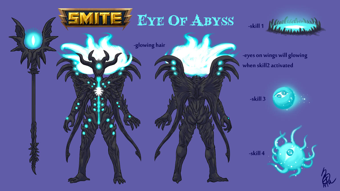 Eye Of Abyss by hyuthefish