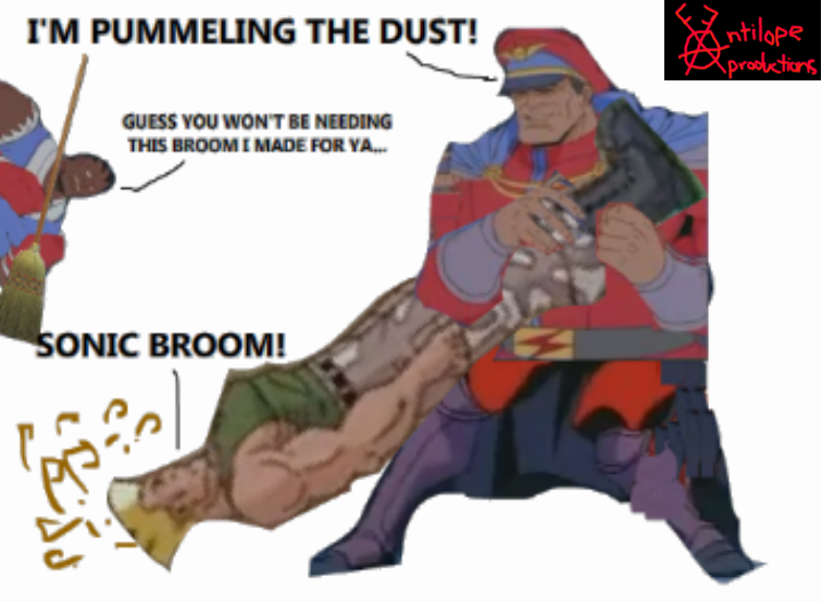 The FAP Thread #1: For Teh Lulz - Page 3 M_bison_pummeling_the_dust_by_kadeteklaudio-d47e6z3