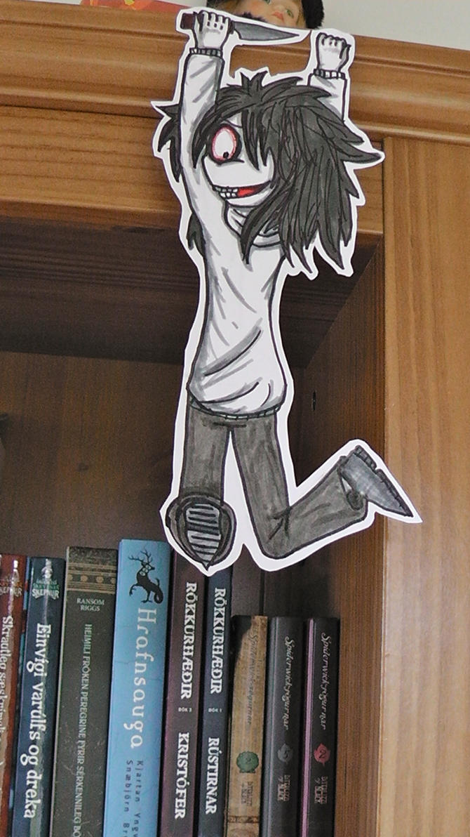 Jeff the killer paperchild by icelandicghost