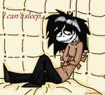 I can't sleep...