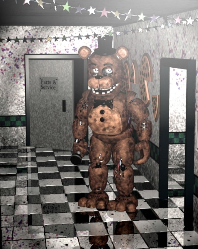 FNAF 2 - Five Nights at Freddy's,1,2,3