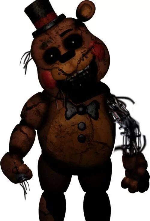 Old Freddy Toys : Toy freddy dismantled or broken by alyssafazbear on