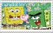 Spongebob X Abrasive Spongebob Stamp by AlyssaFazbear