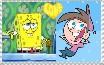 Spongebob X Timmy Stamp by AlyssaFazbear