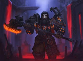 Dark Iron Dwarf by MyDeads
