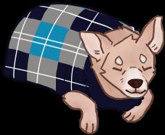dog loaf by xRocky62206x