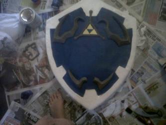 Hylian Shield by Rosie-Draper