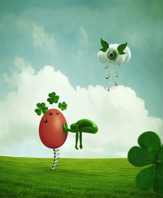 Whimsical moments of green... by StelfySkya