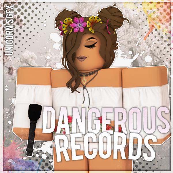 Gfx Dangerous Records Logo Requested By Unicorngfxroblox On