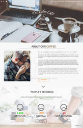 (Sample Design) - The Calm Cafe