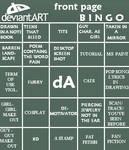 deviantART Bingo