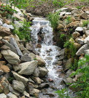 Miniwaterfall by CliftonFomby