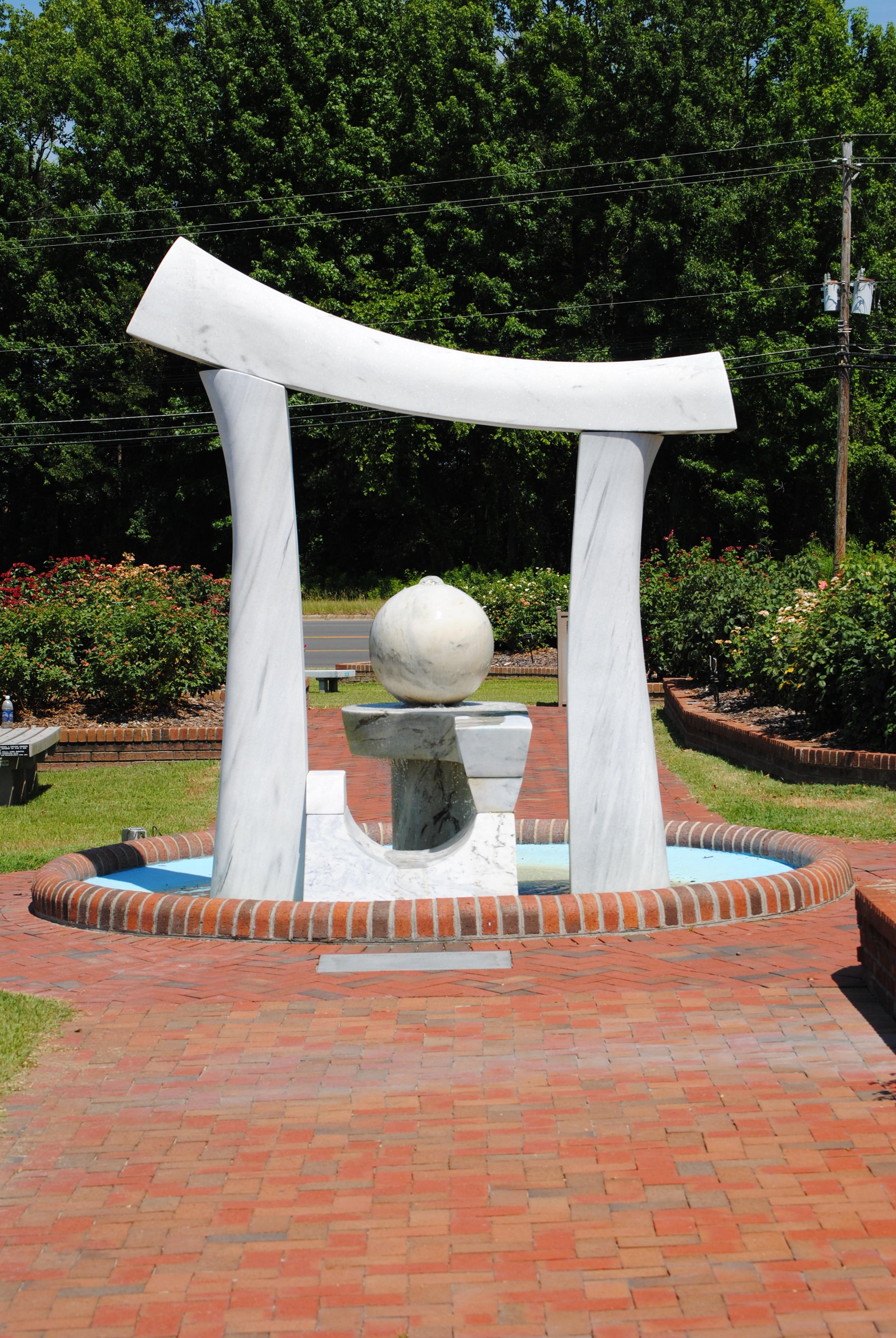 Wilson Rose Garden Sculpture 4