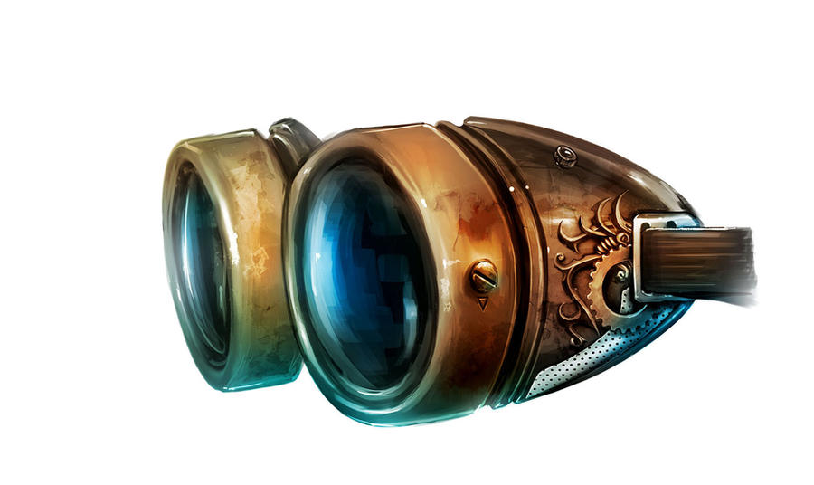 Steampunk Goggles by AGA-99