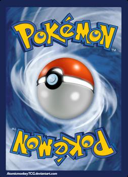 Pokemon Card Backside in High Resolution