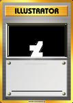 Illustrator card blank, with PSD!