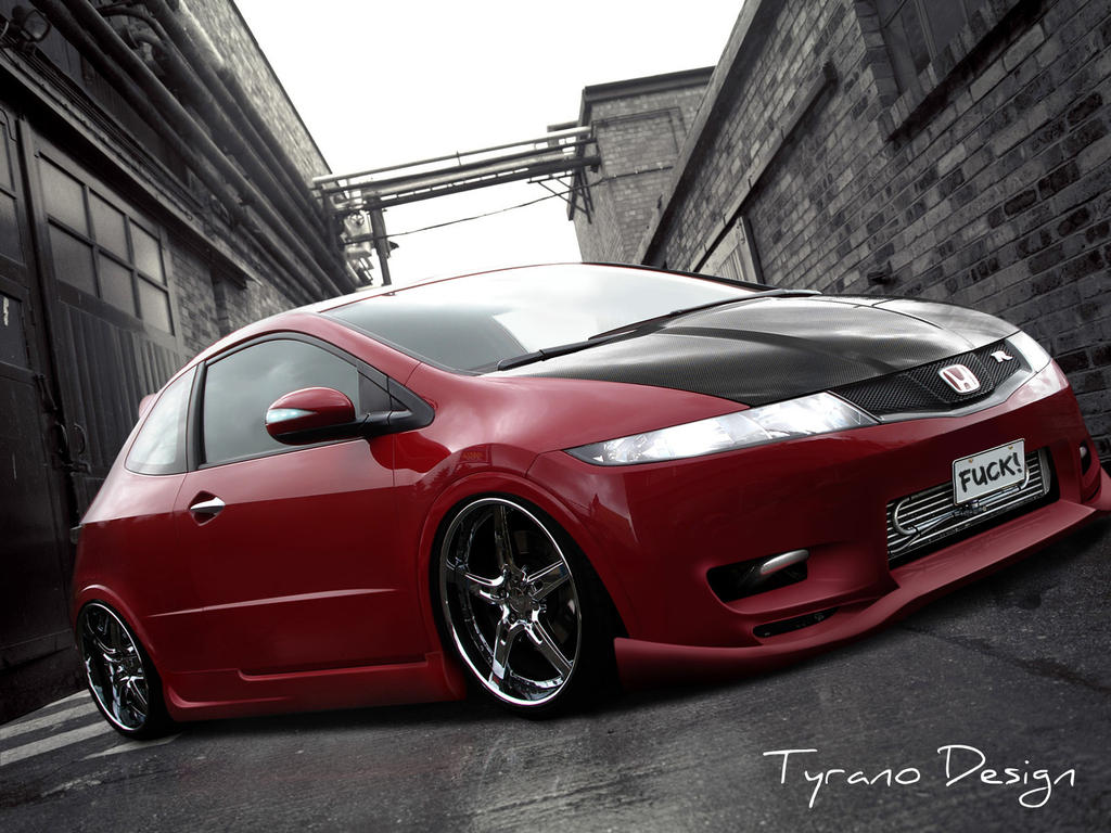 honda civic type r by tyranoo on deviantart. Black Bedroom Furniture Sets. Home Design Ideas