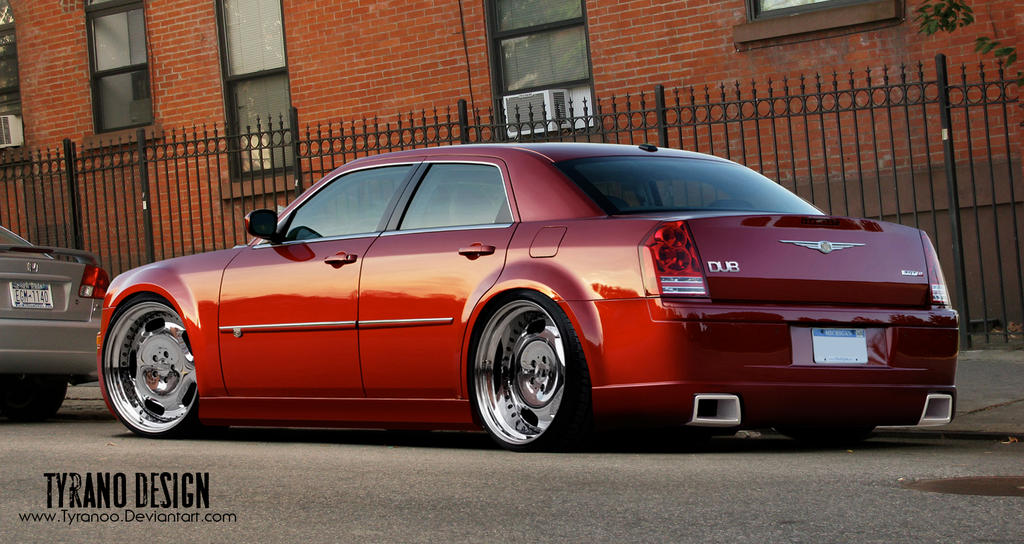 chrysler 300c dub by tyranoo on deviantart. Black Bedroom Furniture Sets. Home Design Ideas