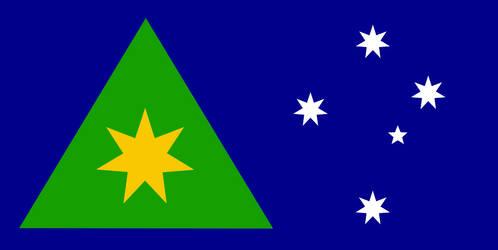 New Australian Flag by CyberPhoenix001