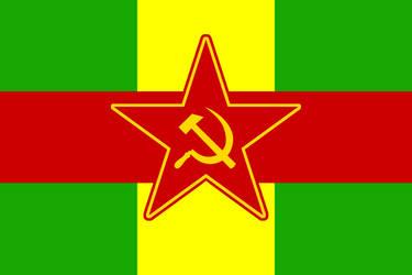 People's Republic of Songhai Flag by CyberPhoenix001