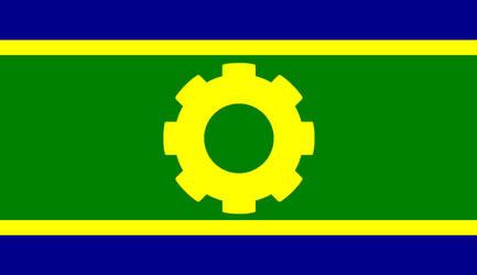 Flag of the Australasian Technate by CyberPhoenix001