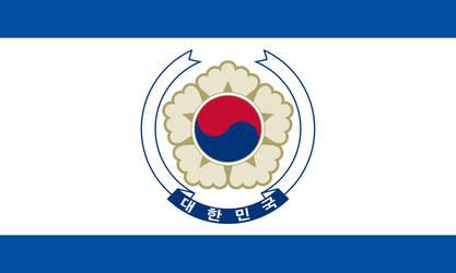 Flag of a United Korea by CyberPhoenix001