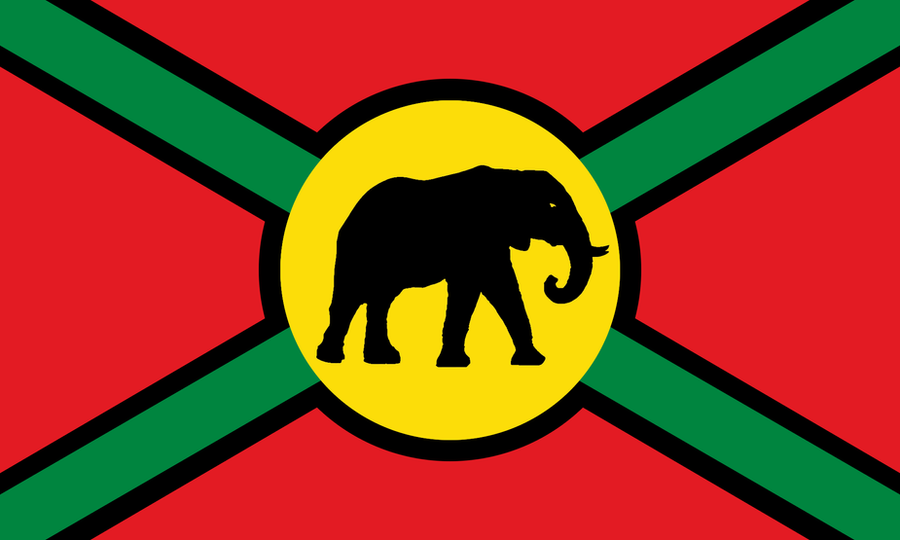 Phenix City (AL) United States  city images : Flag of the United States of Africa by CyberPhoenix001 on deviantART