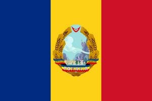 Flag of the Socialist Bronyist Republic of Romania