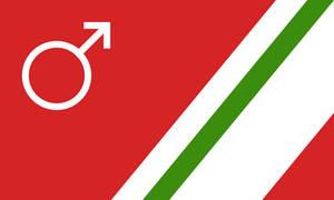 Flag of Santa's Martian Empire