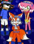 Sonic-Naruto crossover