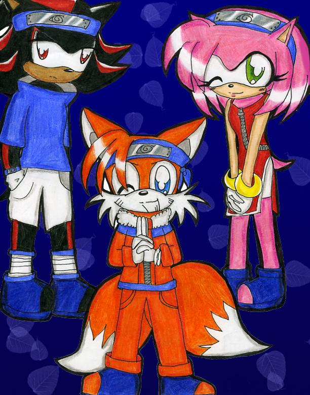 Sonic-Naruto crossover by Shadow-Luna on DeviantArt