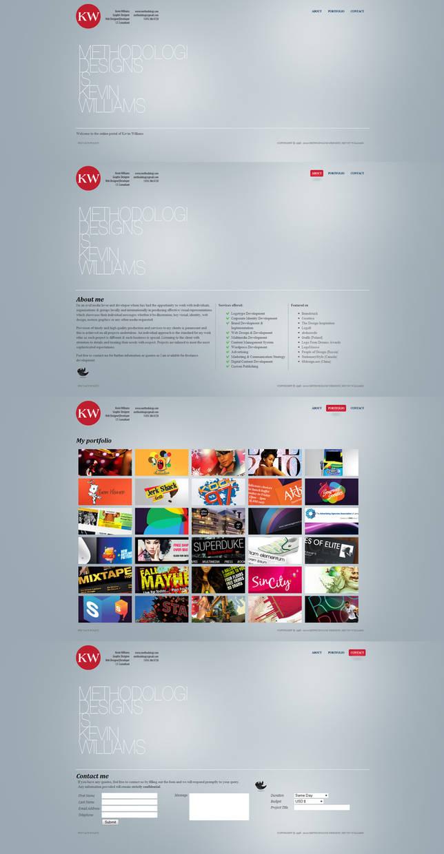 Methodologi Designs website by Methodologi