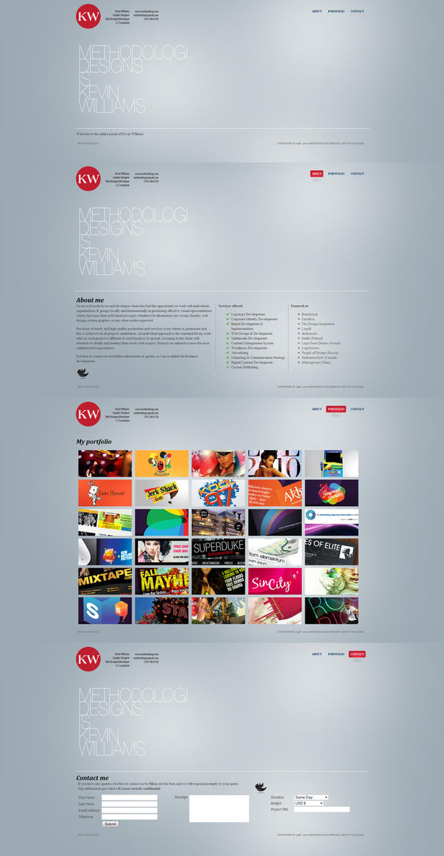 Methodologi Designs website by Methodologi