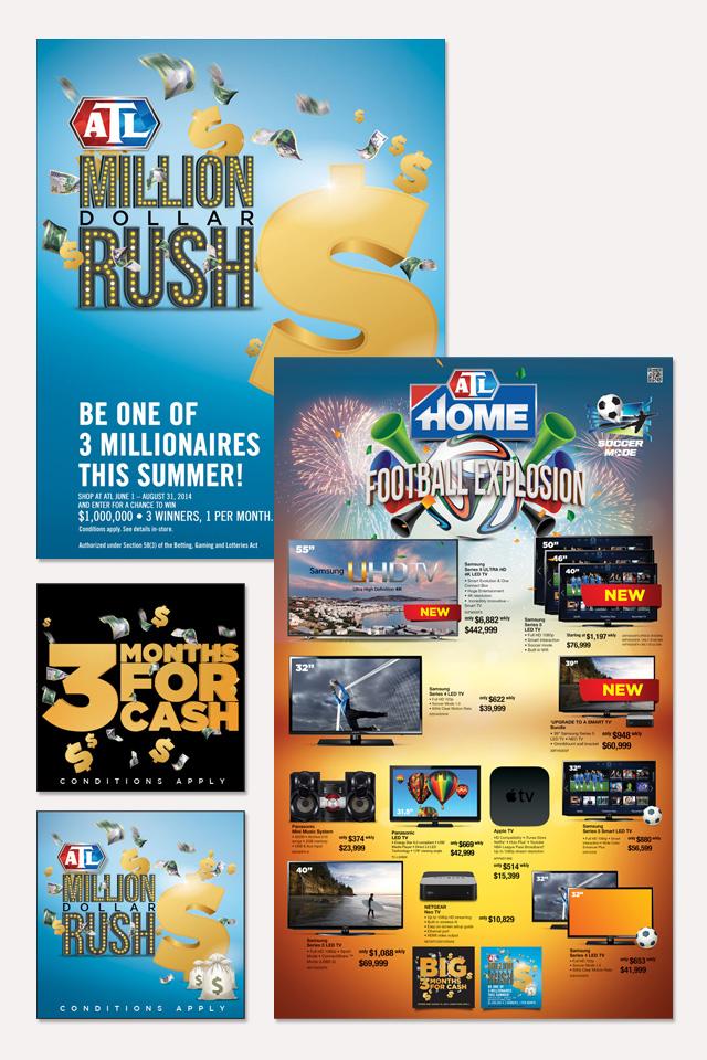 Million Dollar Rush Campaign by Methodologi