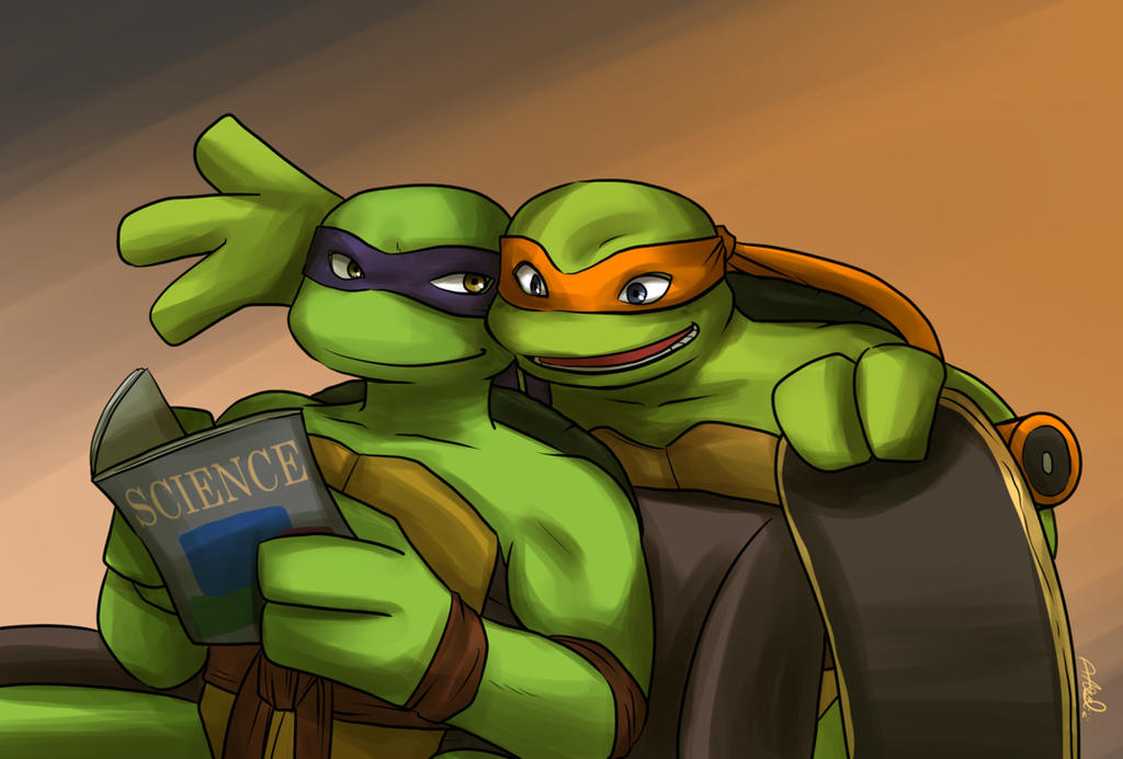 Tmnt Donnie And Mikey – HD Wallpapers