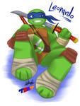 TMNT 2012: Leonardo