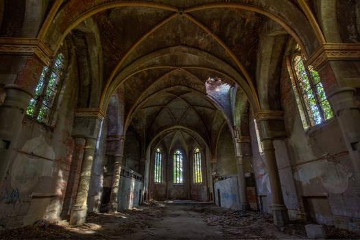 * church ruin