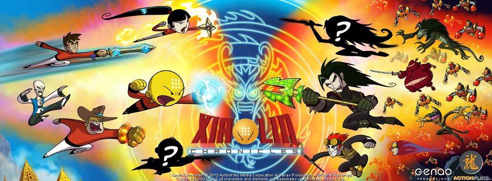 Xiaolin Chronicles Poster by SoulessLotus