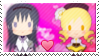 PMMM - Homura/Mami Stamp by DictatorChocolate