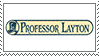 Professor Layton Stamp by DictatorChocolate