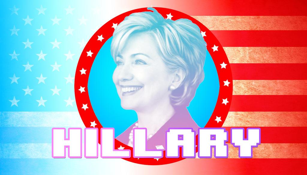 Hillary Clinton Wallpaper by rbglt