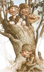Unfinished - Goblin Tree by bridge-troll