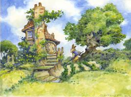 Rabbit's Garden by bridge-troll