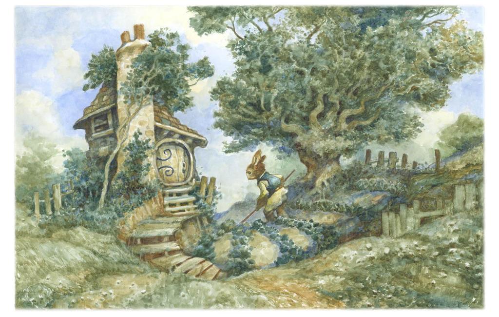 Rabbit's Cottage by bridge-troll