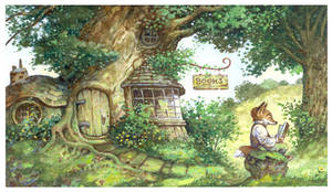 Root Cellar Books by bridge-troll