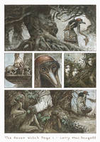 The Raven Witch - Graphic Novel Page by bridge-troll