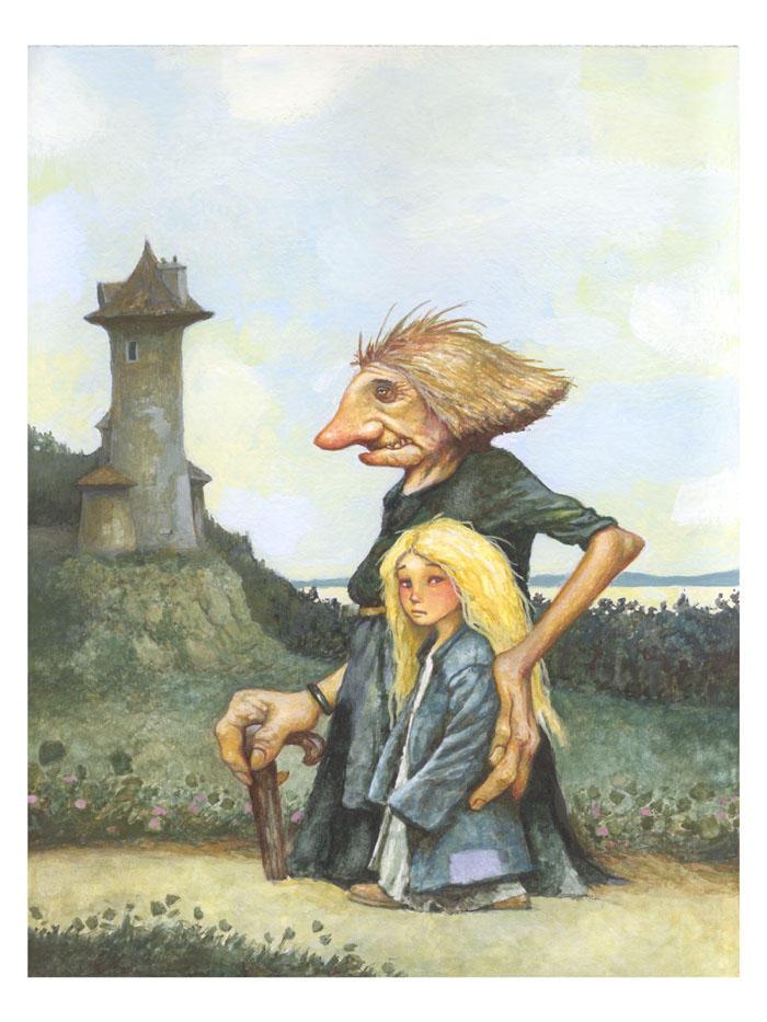 Rapunzel by bridge-troll