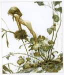 Thistle-netsuke