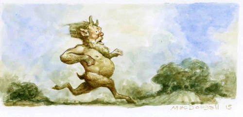 Running-faun