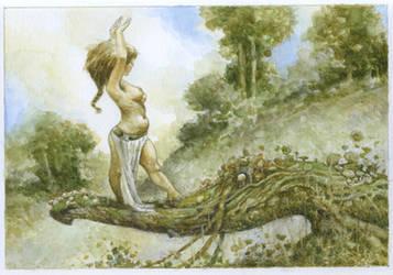 Dancing Nymph by bridge-troll